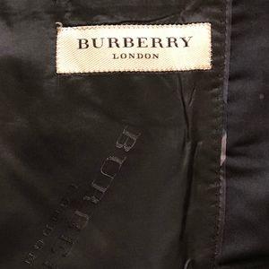 Burberry Mens Suit - Black Size 36 US -